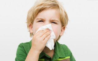 Как лечить насморк у ребенка