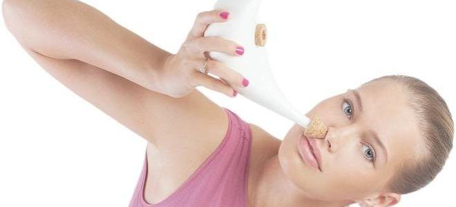 Чем можно пробить нос при насморке