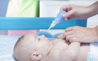 Чем можно лечить насморк у ребенка в 7 месяцев