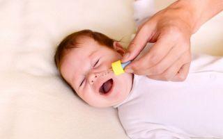 Каким должно быть лечение насморка у детей до года