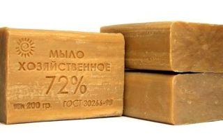 Как хозяйственное мыло применять от насморка