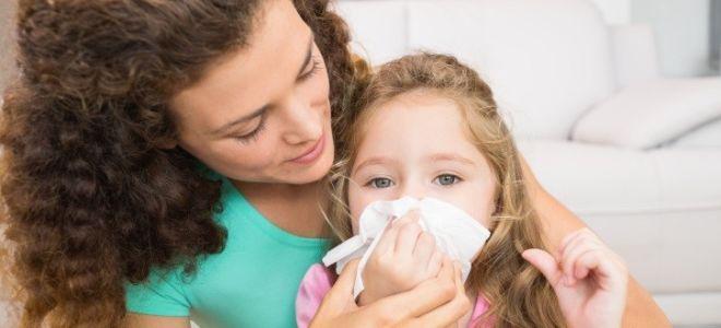 Эффективные народные средства от насморка для детей