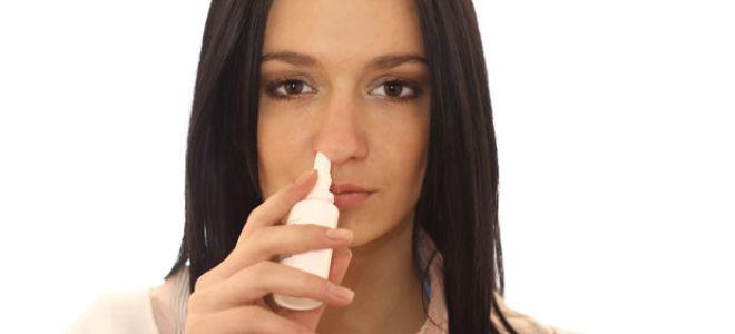 Какие спреи от аллергического ринита можно применять