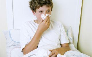 Как лечить острый ринит у детей