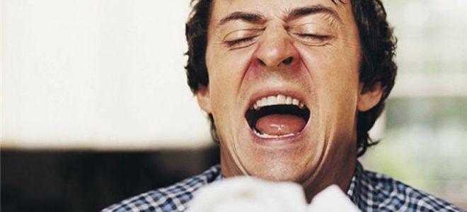 Как правильно лечить насморк и чихание без температуры у взрослого