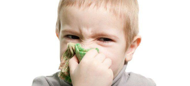 Почему у ребенка не проходит насморк