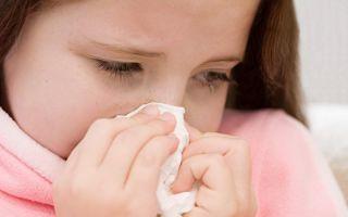 Сколько дней может длиться насморк у ребенка