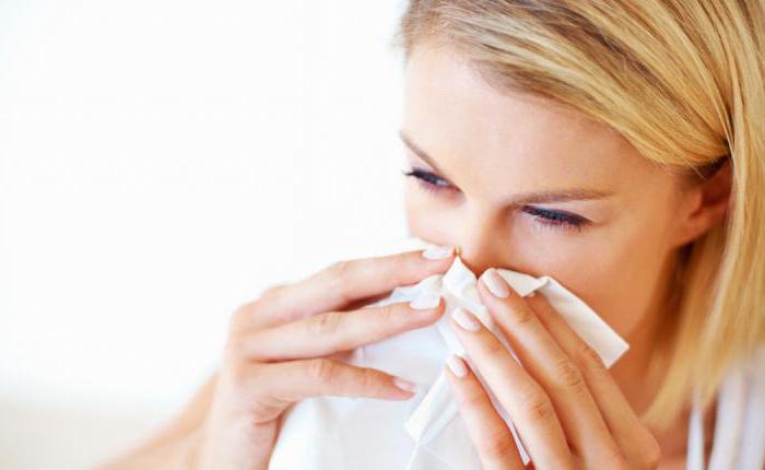 Раздражение на носу от насморка