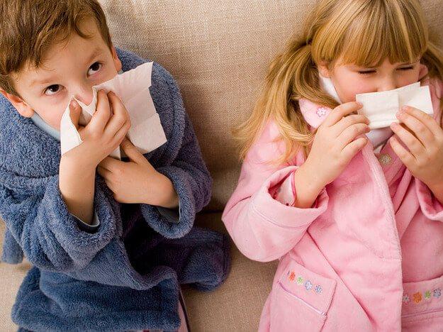 Капли от насморка для детей 2 лет